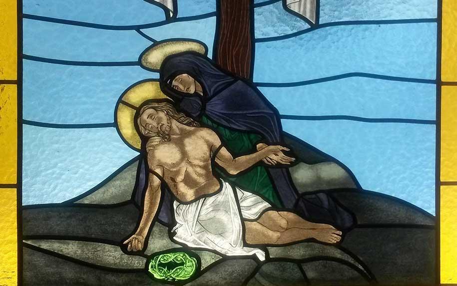 Novos vitrais na Capela de Murches